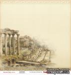 Лист бумаги для скрапбукинга от ScrapBerry's - Итальянские каникулы - Древний Рим, 30,5 х 30,5 см - ScrapUA.com