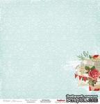 Односторонний лист бумаги от Scrapberry's - Зимнее утро - Сказка, 30х30 см - ScrapUA.com