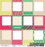 Карточки для вырезания от Scrapberry's - Зимние каникулы - Рамки, 30,5х30,5 см, 180 гр/м, двухсторонний, 1 лист - ScrapUA.com