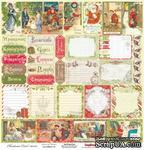 Карточки для вырезания от Scrapberry's - Ночь перед Рождеством - Время Чудес, 30,5х30,5 см, 180 гр/м, односторонний, 1 лист - ScrapUA.com