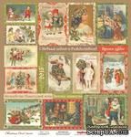Карточки для вырезания от Scrapberry's - Ночь перед - Рождеством - Волшебная история, 30,5х30,5 см 180 гр/м, двухсторонний, 1 лист - ScrapUA.com