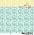 Бумага для скрапбукинга от ScrapBerry's - Лесные друзья - Пушистый друг, 30,5х30,5 см, 190 гр / м, одностороння, 1 шт - ScrapUA.com