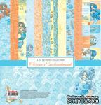 Набор бумаги для скрапбукинга от ScrapBerry's - Сказки моря (РОС), 30,5x30,5 см, 6+2 шт - ScrapUA.com