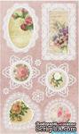 Набор натирок 12*20см Цветы и кружево 2 от ScrapBerry's - ScrapUA.com