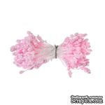 Тычинки двусторонние,  розовые,  55х3мм, 144 шт. - ScrapUA.com