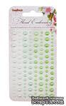 Клеевые полужемчужинки от ScrapBerry's - Floral  Embroidery - Цветочная вышивка, 120 шт, 4 цвета  - ScrapUA.com