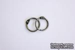 Кольца для альбомов от ScrapBerry's, 2 шт., серебро, 20 мм. - ScrapUA.com