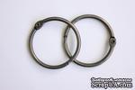 Кольца для альбомов от ScrapBerry's, 2 шт, серебро, 40 мм - ScrapUA.com