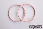 Кольца для альбомов от ScrapBerry's, 2 шт., розовые, 50 мм. - ScrapUA.com