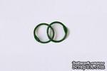 Кольца для альбомов, 2 шт., цвет: зеленый 20 мм SCB 2504720 - ScrapUA.com