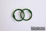 Кольца для альбомов, 2 шт., цвет: зеленый 25 мм SCB 2504725 - ScrapUA.com