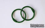 Кольца для альбомов, 2 шт., цвет: зеленый 30 мм SCB 2504730 - ScrapUA.com