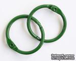 Кольца для альбомов, 2 шт., цвет: зеленый 50 мм SCB 2504750 - ScrapUA.com