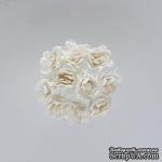 Гипсофилы, набор 10 шт., диаметр 1 см, белые - ScrapUA.com