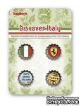 Набор декоративных пробок от Scrapberry's - Итальянские каникулы - ScrapUA.com