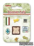 Набор декоративных брадсов от Scrapberry's - Итальянские каникулы - ScrapUA.com