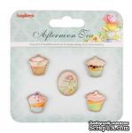 Набор декоративных элементов от Scrapberry's - Полуденный Чай - ScrapUA.com