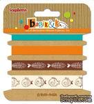 Набор декоративных лент от Scrapberry's - Басик, 4шт по 1м - ScrapUA.com