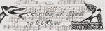 Бумажный скотч с принтом Ласточки 15мм*8м SCB490021 - ScrapUA.com