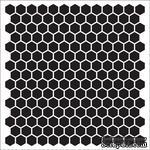 Маска Соты 15,2*15,2см толщина 0,31мм SCB53100012 - ScrapUA.com