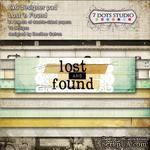 Набор двусторонней скрапбумаги от 7 Dots Studio - Lost and Found, 15x15 см, 24 шт - ScrapUA.com