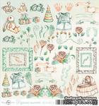 Лист скрапбумаги от ScrapEgo - Милые штучки - Крошка-сыночек, 30,5х30,5см - ScrapUA.com