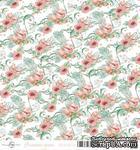 Лист скрапбумаги от ScrapEgo - Цветочек, Лапочка-дочка, 30,5х30,5см - ScrapUA.com