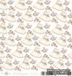 Лист скрапбумаги от ScrapEgo - Платьице, Лапочка-дочка, 30,5х30,5см - ScrapUA.com