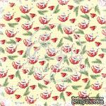 Лист скрапбумаги от ScrapEgo - А где же кружка? - Рождественская ночь, 30,5х30,5см - ScrapUA.com