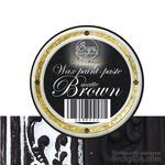 Краска с эффектом патины - Brown matte, 30 ml - ScrapUA.com
