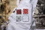Набор ножей для вырубки от Scrapfriend - Вышиванка - Крестик, 3см - ScrapUA.com