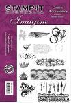 Набор резиновых штампов от Crafter's Companion - Ornate Accessories, 12 шт. - ScrapUA.com