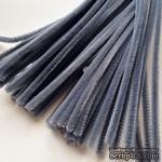 Синельная проволока, цвет серый, 30 см, 1 штука - ScrapUA.com