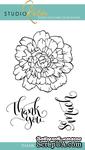 Набор штампов от Studio Katia - Thank You So Much, 3 шт.,  STKS015 - ScrapUA.com