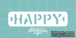 Чипборд от Вензелик - Happy 03, размер: 62x15 мм - ScrapUA.com
