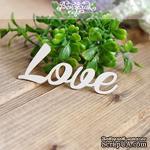Чипборд от Вензелик - Love, размер: 69x29мм - ScrapUA.com