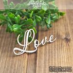 Чипборд от Вензелик - Love, размер: 55x27мм - ScrapUA.com