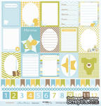 Лист односторонней бумаги от Scrapmir - Карточки из коллекции Наш Малыш, 30x30см, 1 шт. - ScrapUA.com