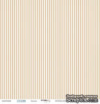 Лист односторонней бумаги от Scrapmir - Полоски из коллекции Море, 30x30см, 1 шт. - ScrapUA.com