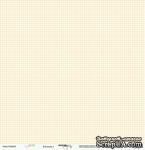 Лист односторонней бумаги от Scrapmir - Клеточка - Baby Boy, 30х30 см - ScrapUA.com