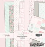 Набор односторонней бумаги от Scrapmir - Baby Girl, размер 30х30 см, 10 листов - ScrapUA.com