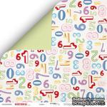 Лист двусторонней бумаги от Scrapmir - Birthday Party - Цифры из коллекции, 30x30 см, 10шт - ScrapUA.com