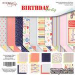 Набор двусторонней бумаги от Scrapmir - Birthday Party, 30х30см, 10шт - ScrapUA.com