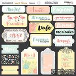Надписи от Scrapmir - Simple Flowers, украинский язык 20х20см - ScrapUA.com