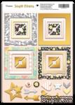 Рамки из чипборда с фольгированием (золото) для скрапбукинга от Scrapmir - Simple Flowers, 30 шт. - ScrapUA.com
