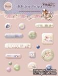 Набор эпоксидных наклеек от Scrapmir - Delicious Recipes, 16 шт. - ScrapUA.com