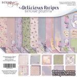 Набор двусторонней бумаги от Scrapmir - Delicious Recipes, 20х20 см, 10 листов - ScrapUA.com