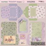 Лист двусторонней бумаги от Scrapmir - Конверты - Delicious Recipes, 20х20см - ScrapUA.com