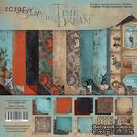 Набор двусторонней бумаги от Scrapmir - Time to Dream (ENG), 20х20см, 10 листов - ScrapUA.com
