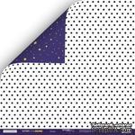 Лист двусторонней бумаги от Scrapmir - Звёзды - Ticket to the Moon, 30x30см - ScrapUA.com